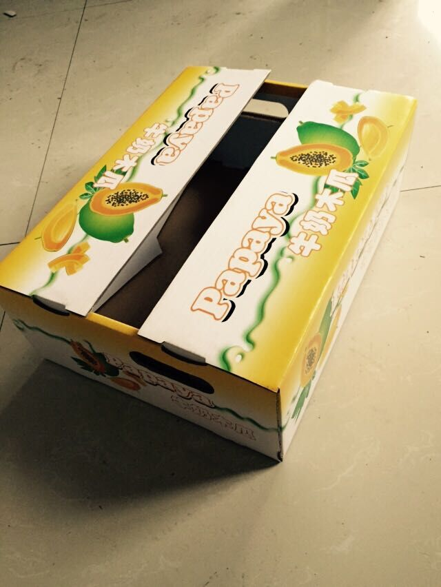 牛奶木瓜彩箱