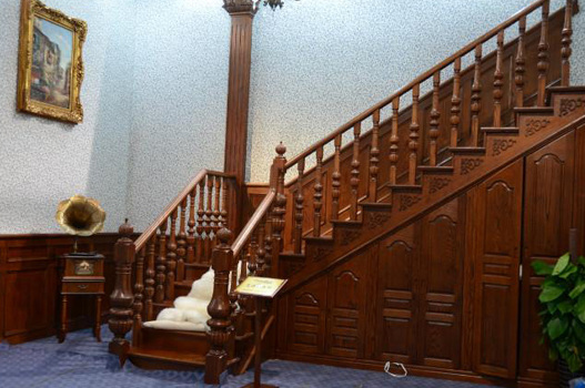 实木楼梯扶手fs004