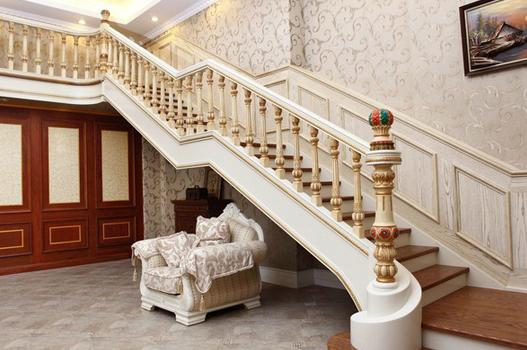 实木楼梯扶手fs001