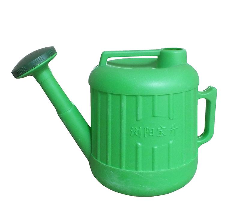 小号绿色洒水壶-PE塑料壶-湖南宝升塑业科技有限公司