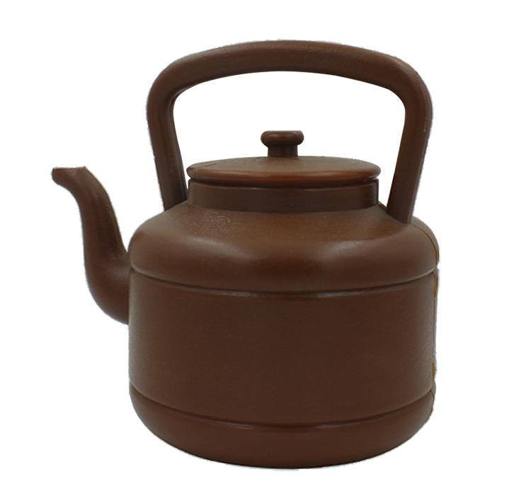 咖啡色塑料农家壶