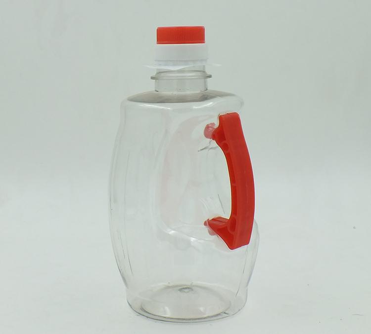 1L腰提手油瓶-PET油瓶、酒瓶-湖南宝升塑业科技有限公司
