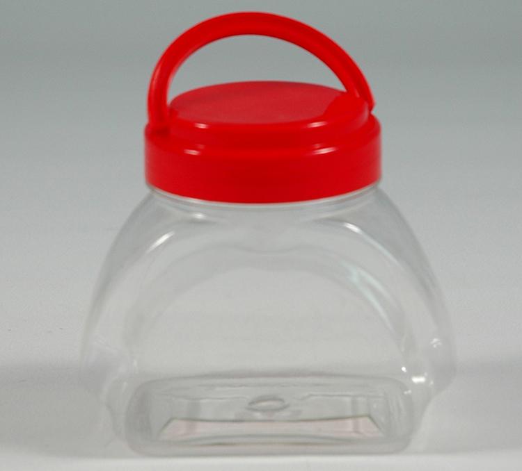 400ML腰形瓶-PET食品包装瓶-湖南宝升塑业科技有限公司
