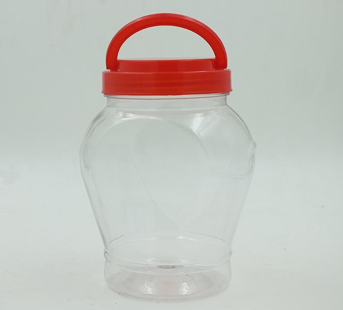 1L心形酱菜包装瓶