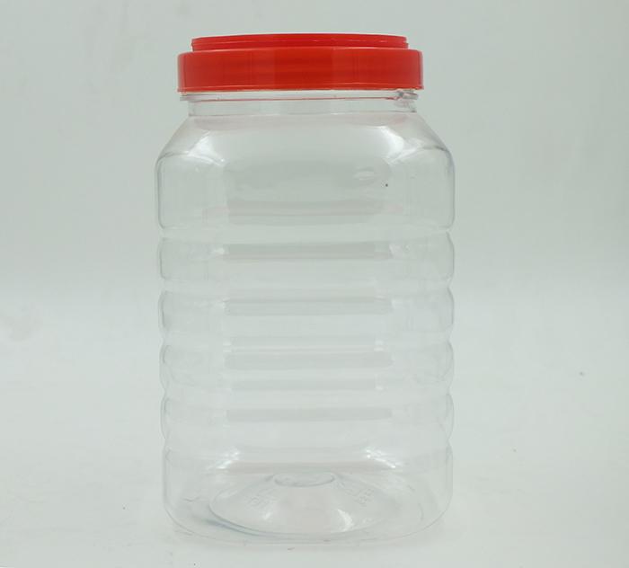 2.3L四方塑料瓶-PET食品包装瓶-湖南宝升塑业科技有限公司