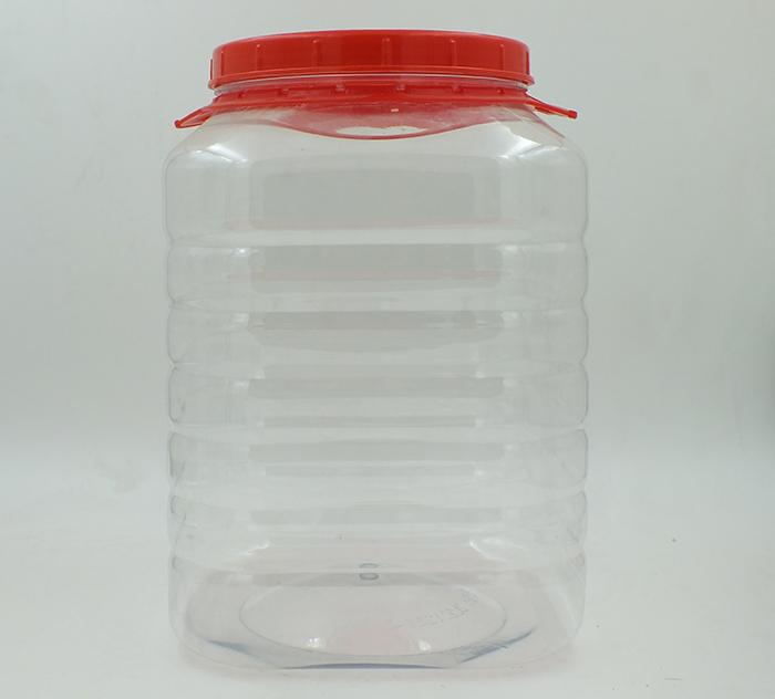8L四方大容量塑料瓶