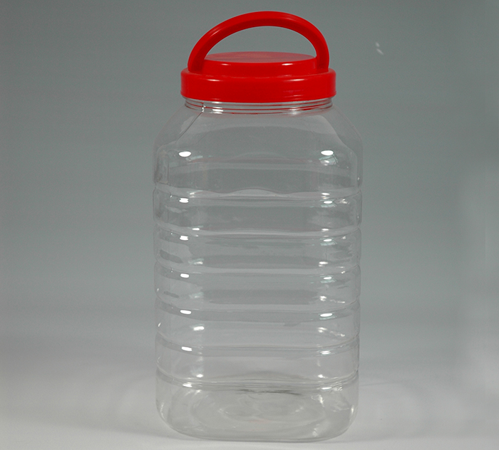 5L四方PET塑料瓶-PET食品包装瓶-湖南宝升塑业科技有限公司