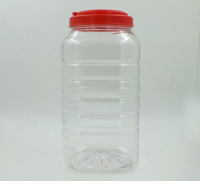 4.5L四方塑料瓶-PET食品包装瓶-湖南宝升塑业科技有限公司