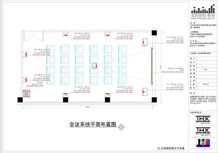 长沙和朴电子科技会议室点位图