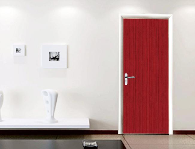 卫浴门 红橡木