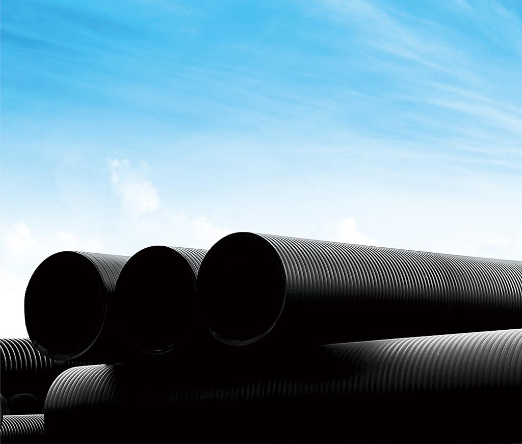 埋地用聚必赢(HDPE)中空壁缠绕管