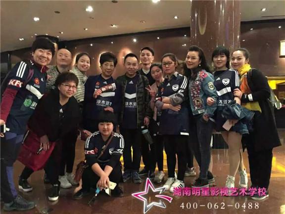 明星化妆学校学员跟《逗把街》剧组来上海拍戏啦!