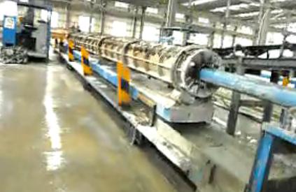 管桩自动泵送布料系统