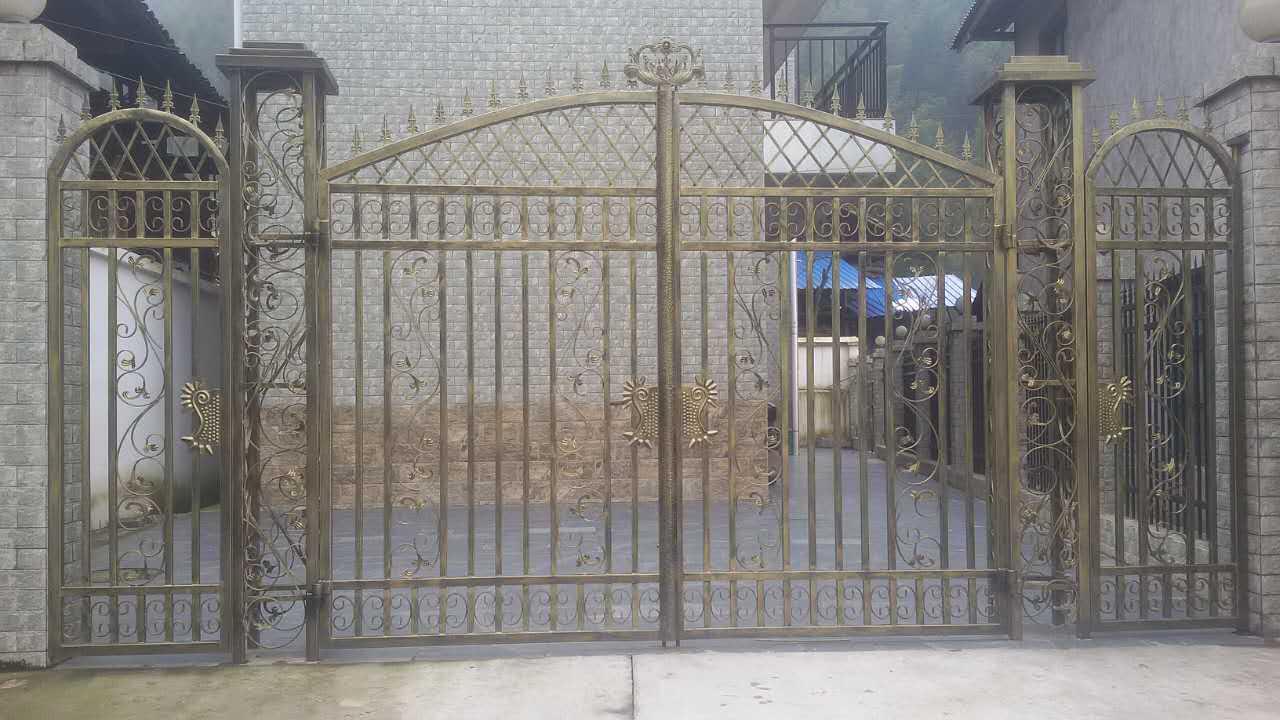 锌钢大门 dm02