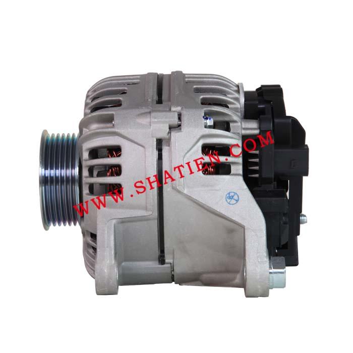 奥迪2.4 2.8发电机120A,CA1588IR,0124325019