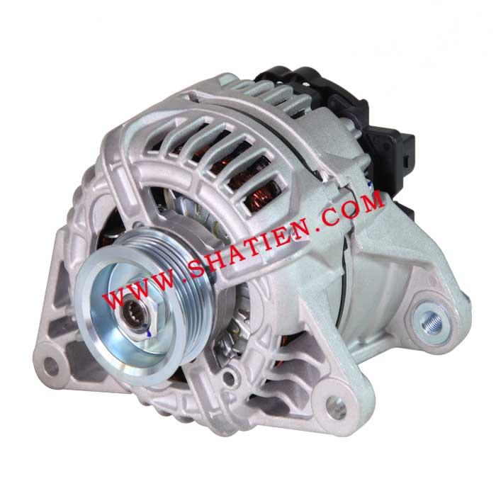 奧迪A4 A6C5 1.8發電機CA1546IR,0124325017