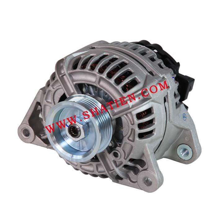 奧迪2.4 2.8發電機120A,CA1588IR,0124325019