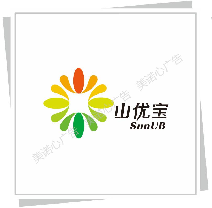 山優寶logo、包裝設計