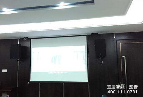 多媒体会议系统幕布