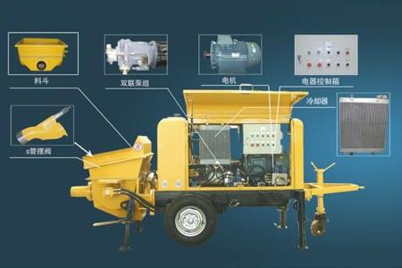 混凝土输送泵液压系统检测及保养