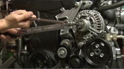 沙电所生产单向带离合汽车发电机已全部采用INA单向皮带轮