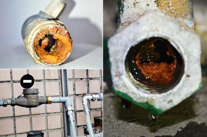 如此骇人!你家的自来水管道清洗了吗?