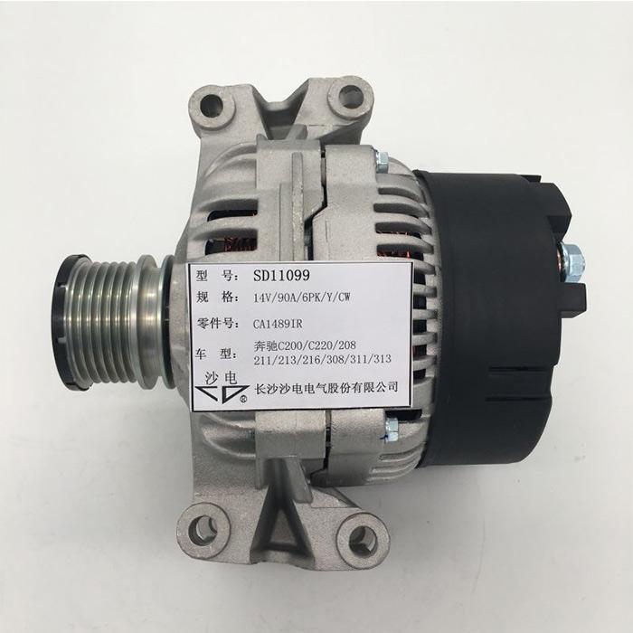 博世发电机CA1489IR适用于奔驰C200/C220/208/211/213/216/308/311/313/316