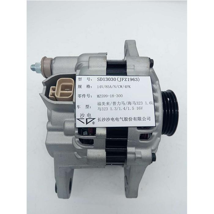 323福美来普力马1.6L发电机,JA1283IR,Z599-18-300