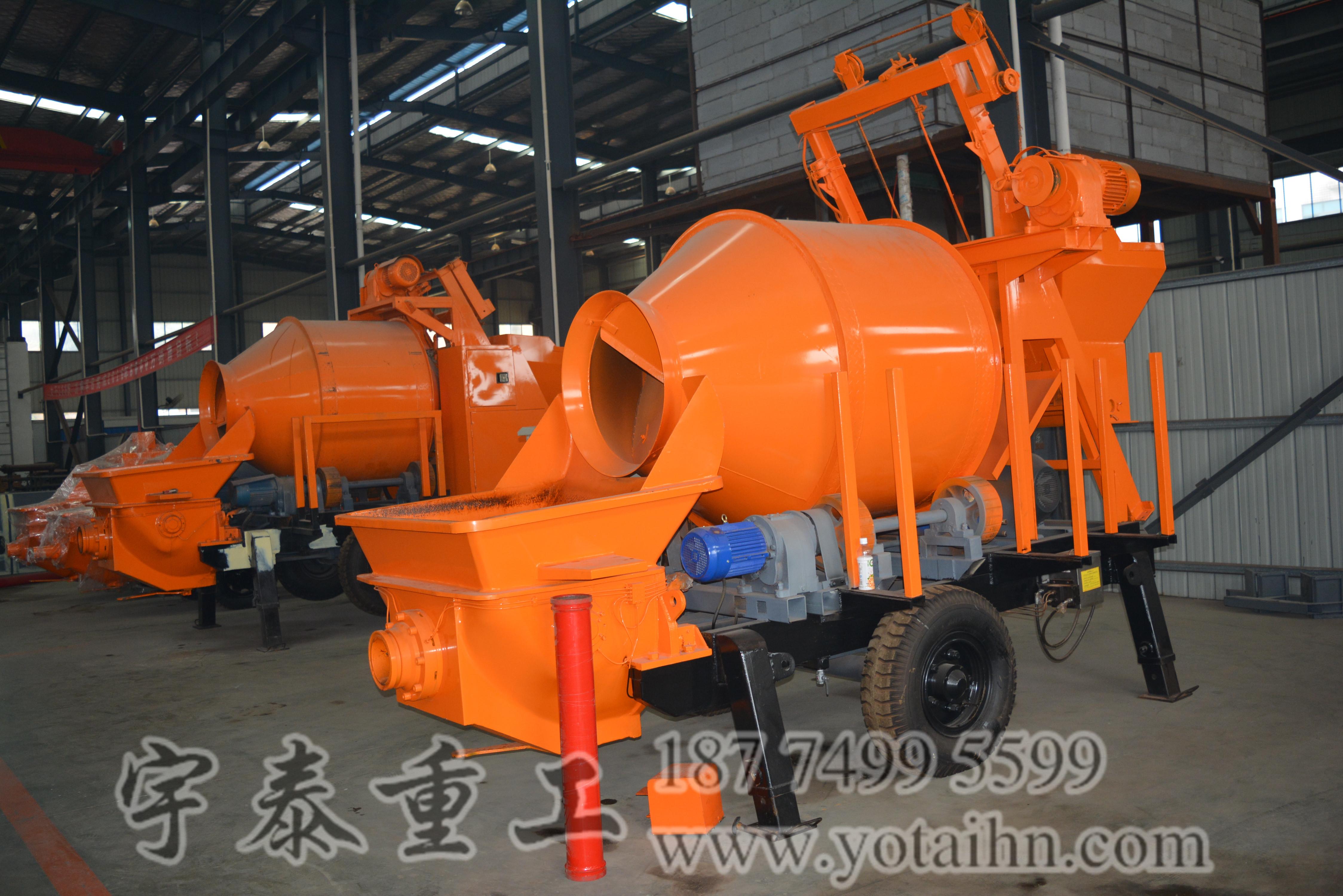 湖南宇泰重工搅拌拖泵质量好,服务优,值得信赖!
