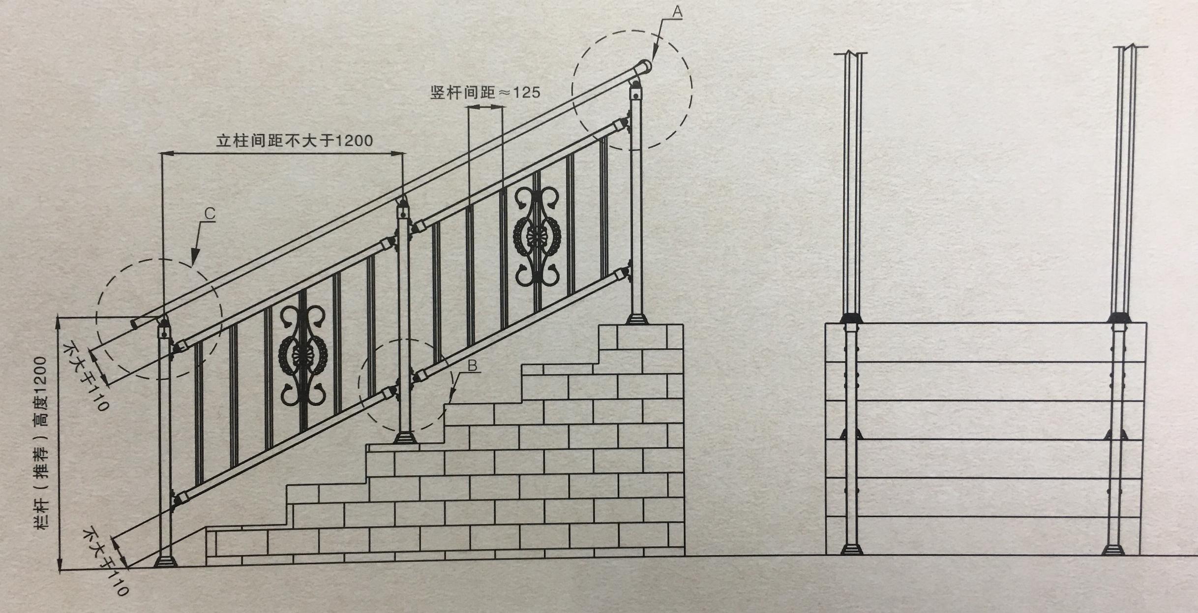 锌钢楼梯扶手