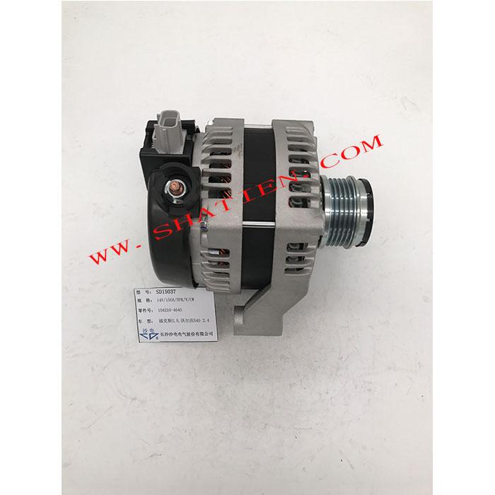 沃尔沃S40 V50 2.4 2.5发电机1042104640,SD15037