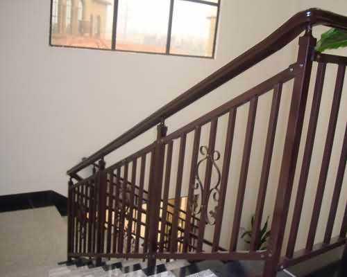 长沙锌钢楼梯扶手
