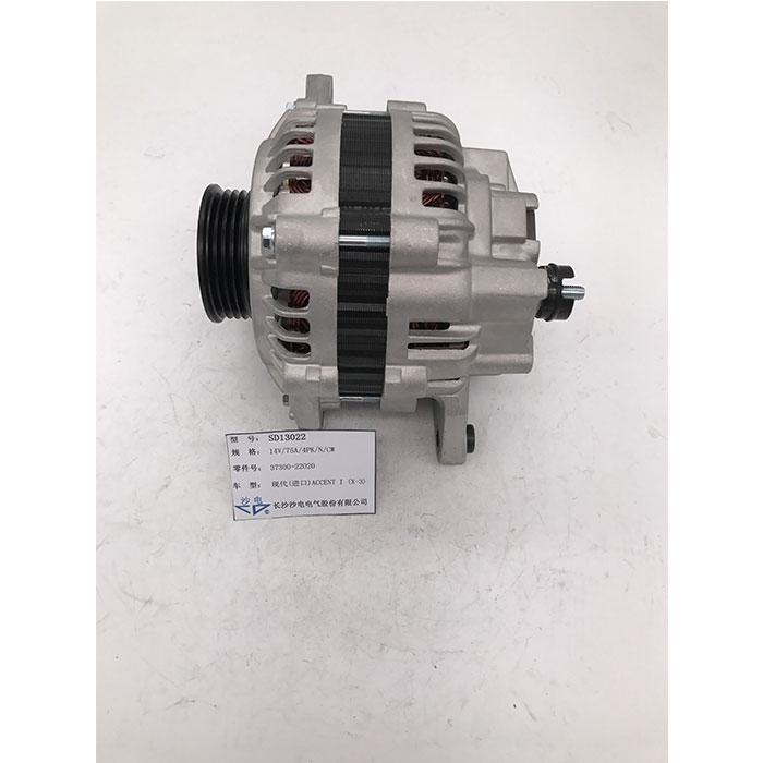 三菱发电机3730022020,SD13022适用于现代雅绅特I (X-3)