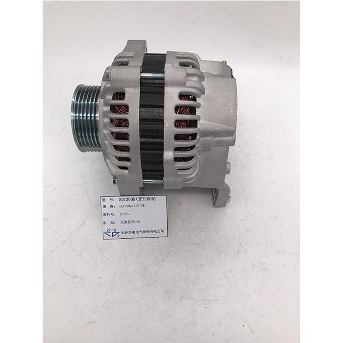 三菱发电机13723,SD13008适用于尼桑蓝鸟U13