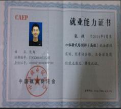 就业能力证书