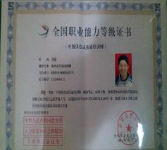 全国职业能力等级证书