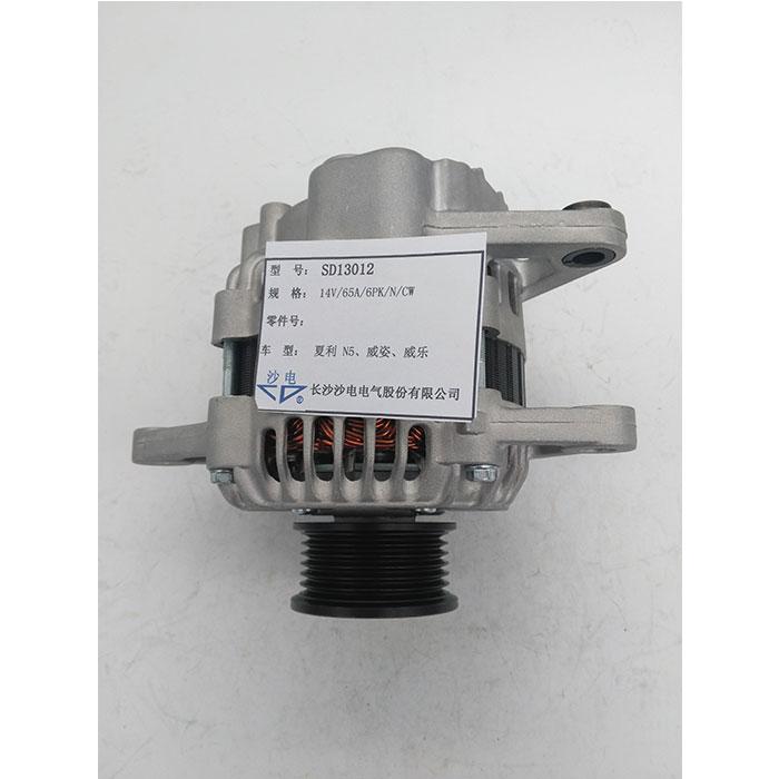 夏利N5发电机SD13012威姿威乐发电机