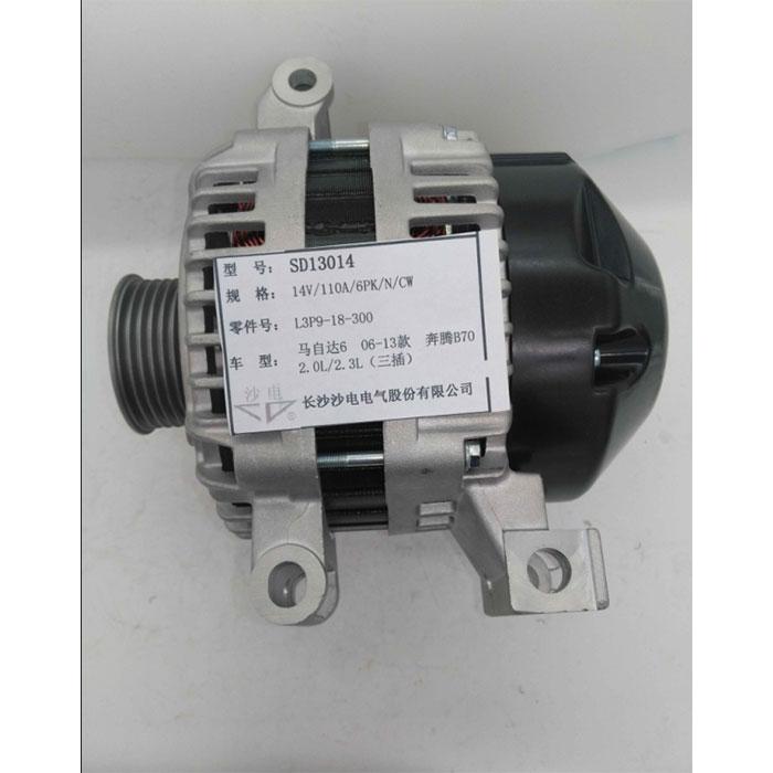 06-13款马自达6发电机L3P9-18-300,SD13014