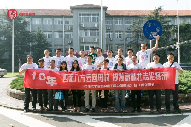 中南大学物理信息工程测绘01级10周年聚会