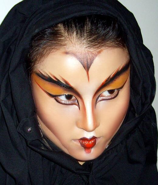 長沙化妝學校影視特效化妝作品