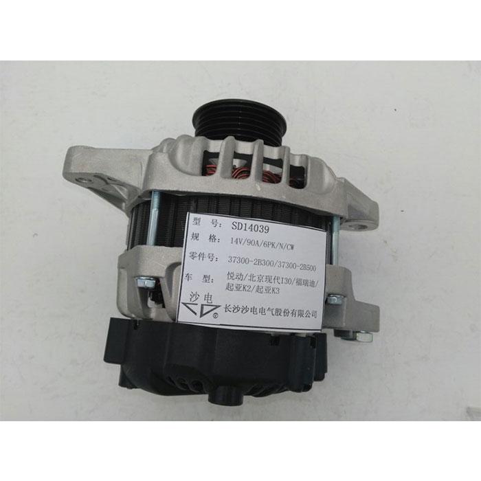 北京现代I30悦动发电机37300-2B300,SD14039