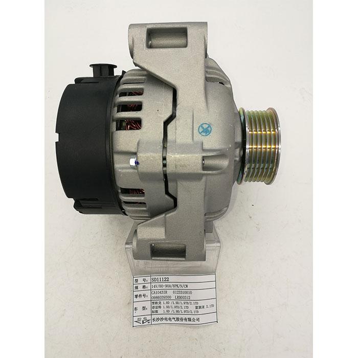 雪铁龙1.8 1.9 2.0 2.1发电机0123310010,CA1043IR,SD11122