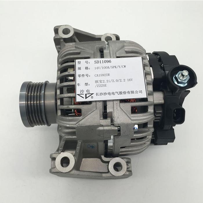 Opel alternator CA1592IR 6204184 0124415009