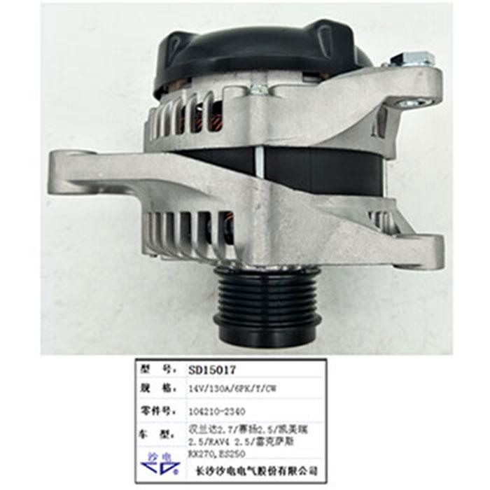 Toyota 2.5 alternator 104210-2340 1042102340