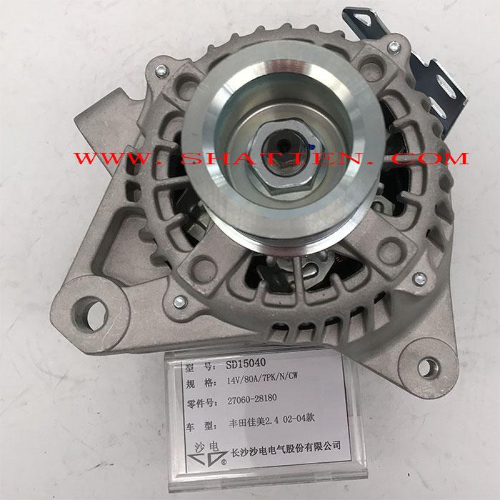 Toyota alternator 27060-28180 1022112390