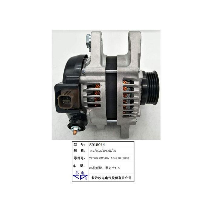 Toyota alternator 27060-0M040 1042109081