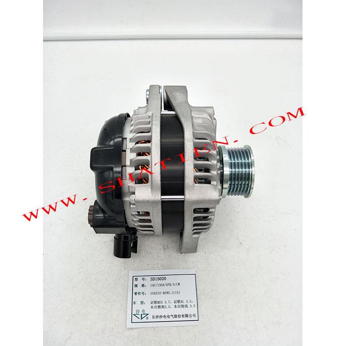 1998-2002款广本3.0发电机,104210-4690