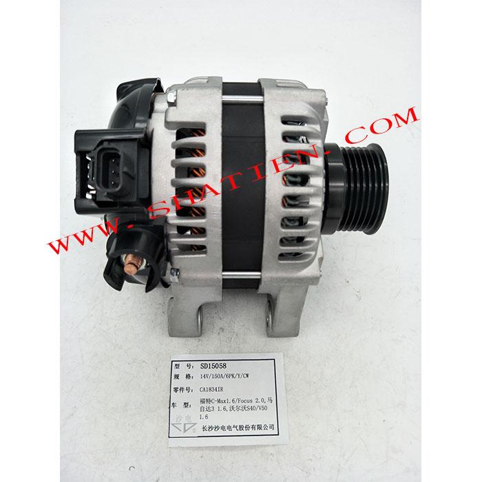 沃尔沃S40 V50 1.6发电机150A,31288155,104210-3521,SD15058