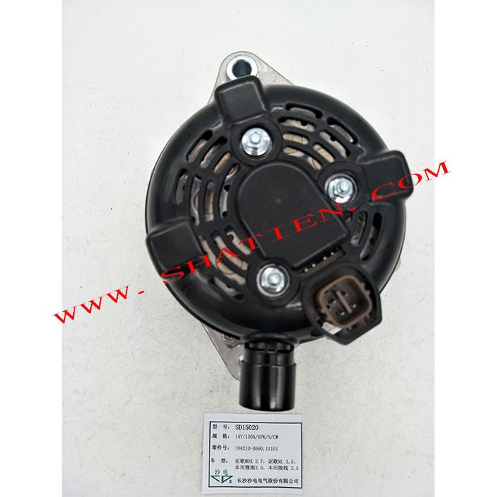 电装发电机104210-4690,31100RDJA01,SD15020适用于讴歌MDX3.7 讴歌LR3.5 本田雅阁3.0 陵线3.5