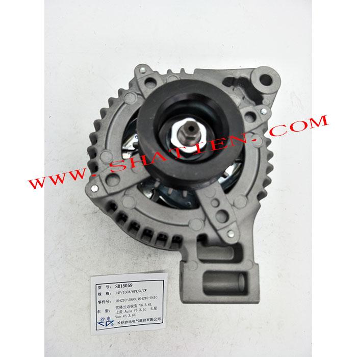 邁銳寶V6 3.6L發電機104210-2890,104210-5410,SD15059